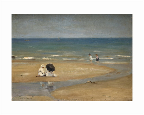 On the Beach by Edwin Butler Bayliss