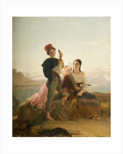 Neapolitan Peasants, 1836 by Thomas Unwins