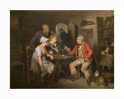 The Old Soldier's Story, 1808 by Edward Bird