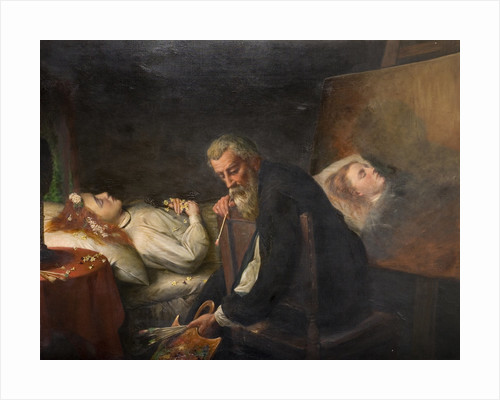 Tintoretto Painting His Dead Daughter, 1873 by Henry Nelson O'Neill