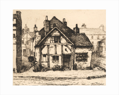 Old House, Salop Street, Wolverhampton from Remnants Of Old Wolverhampton (Vol.I. 1880. No.s 1-37), 1880 by John Fullwood