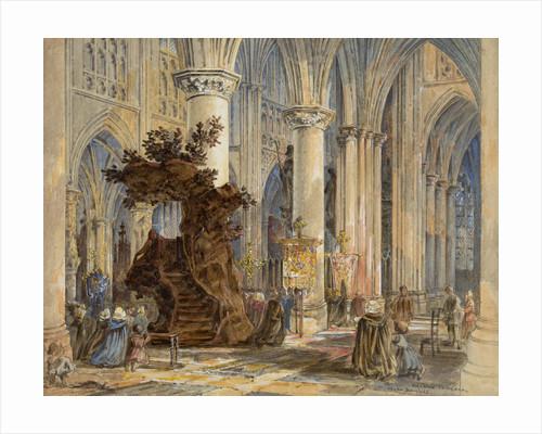 Mechlin Cathedral, 1860 - 1890 by Wyke Bayliss