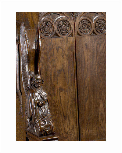 Angel from a priest stall, St. Paul's, Walsall, 1938 by unknown