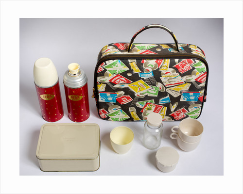 Picnic case, 1960s by unknown