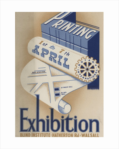Souvenir programme of Walsall's Printing Exhibition, 1949 by unknown