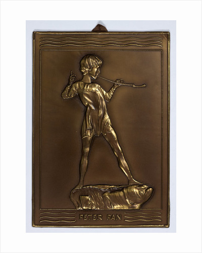 Metcraft Peter Pan plaque, Walsall Lithographic Company Limited by unknown