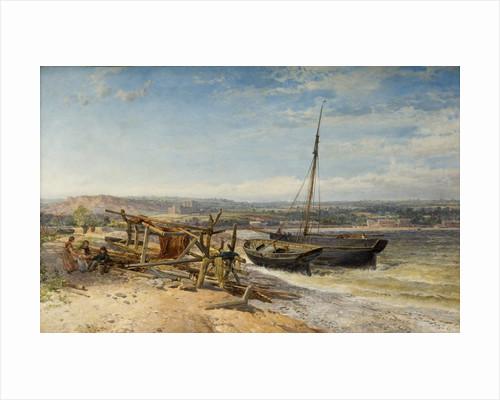 Estuary Scene, 1866 by John Syer