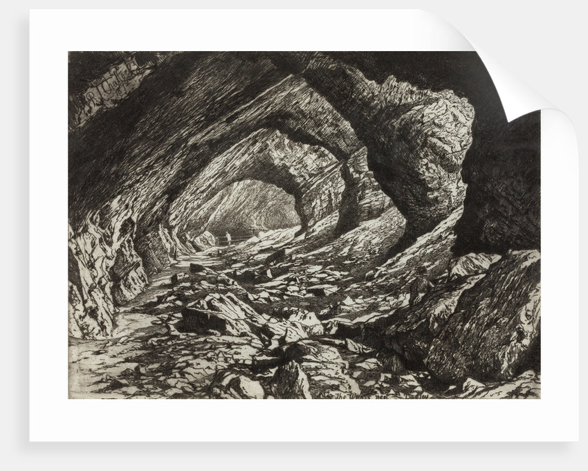 The Wrens Nest - Limestone Caves, 1872 by Richard Samuel Chattock