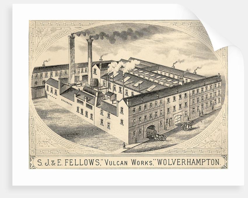 S. J. & E. Fellows, Vulcan Works, circa 1900 by unknown