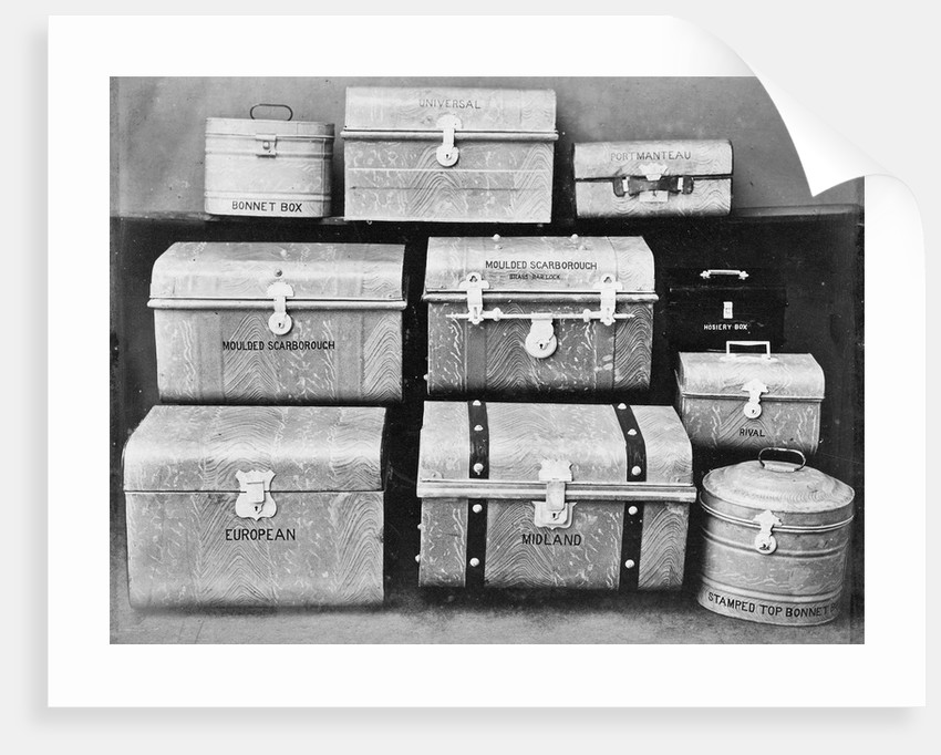 South Staffordshire Industrial and Fine Art Exhibition: Luggage by unknown
