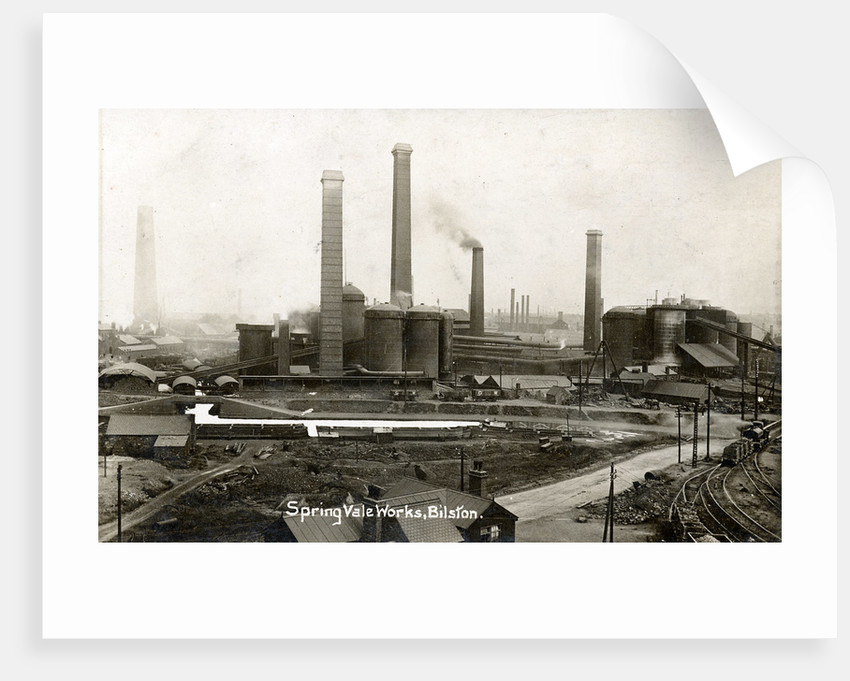 Bilston Steelworks, Bilston, 1920 by unknown