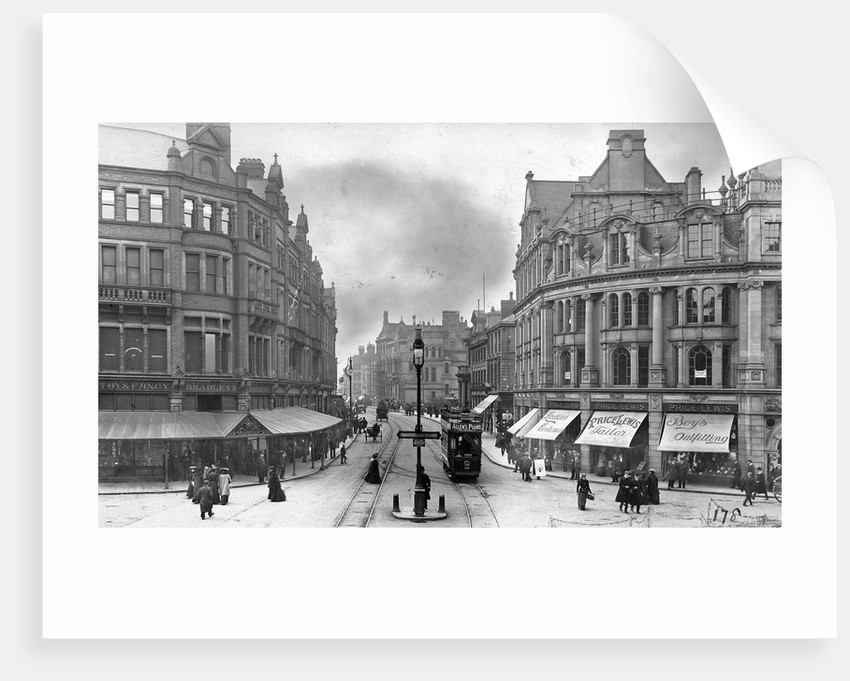 Princes Square, Wolverhampton, 1900s by unknown