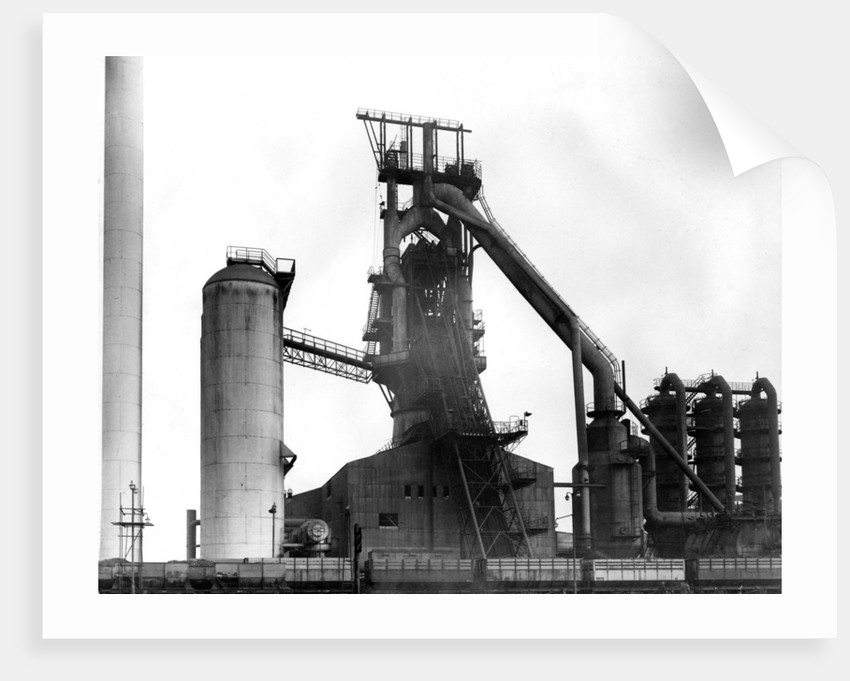 Elisabeth Furnace, Bilston Steelworks, 1970 by unknown