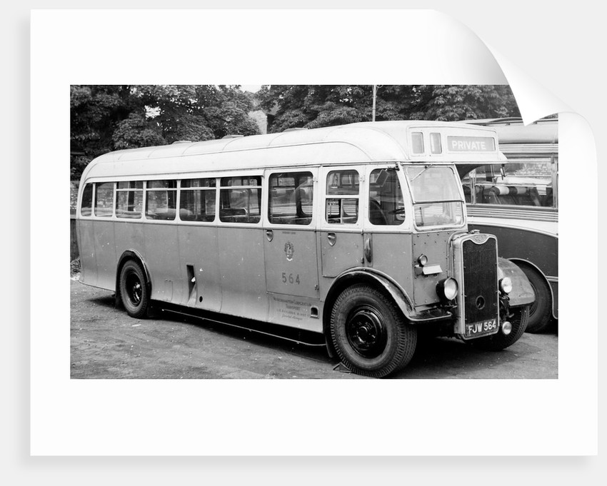 Guy Motor Bus, Wolverhampton, Mid 20th century by unknown