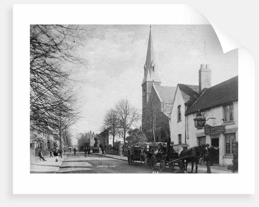 Compton Road, Wolverhampton, circa 1910 by unknown