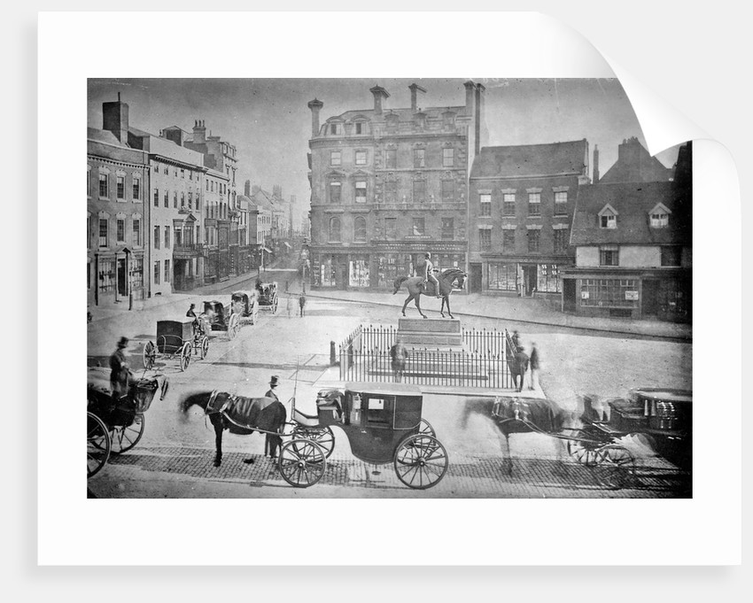 Queen Square, Wolverhampton , 1867 by unknown