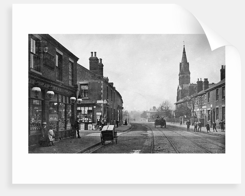 Newhampton Road, Wolverhampton, 1904 by unknown