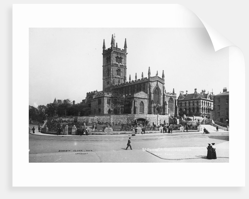 St. Peter's Collegiate Church, Wolverhampton, Late 19th century by unknown