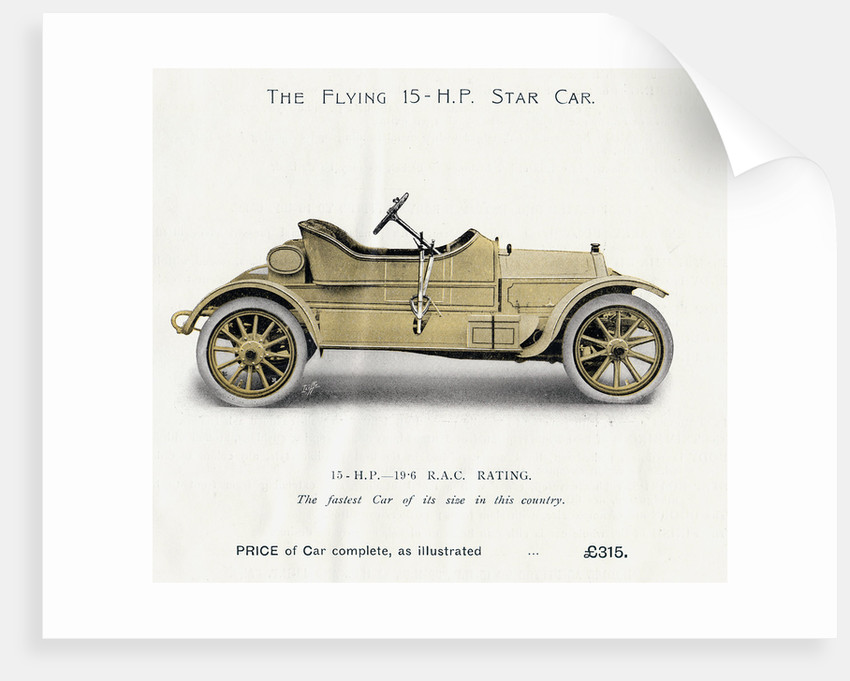 Star Car, Star Engineering Co. Ltd., 1910 by unknown