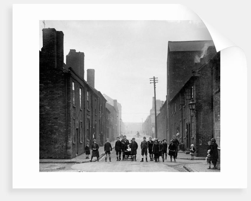 Children, Hare Street, Bilston, circa 1960 by unknown