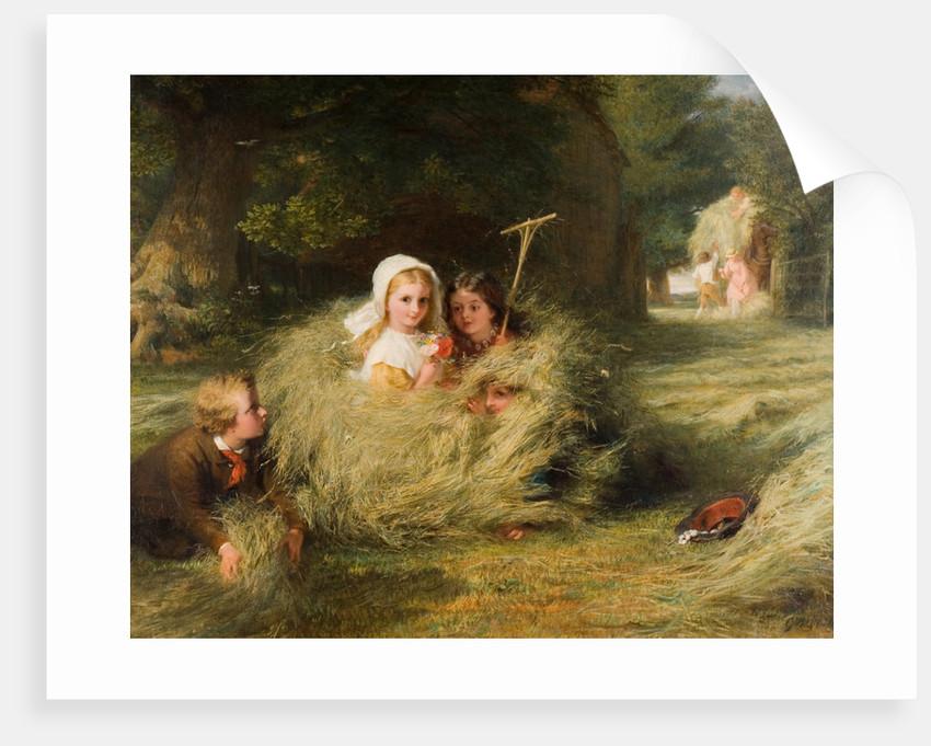 Nestlings, 1870 by George Bernard O'Neill
