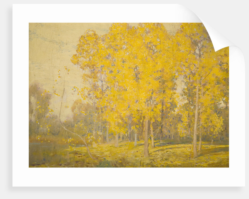 Landscape with Trees - 'Autumn', Late 19th century by Alfred East