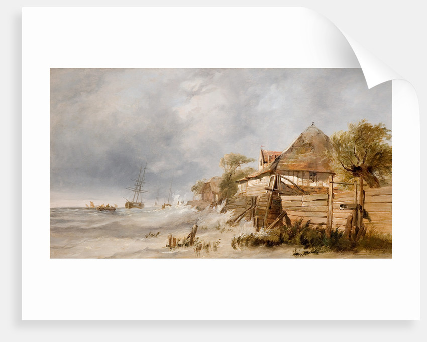 Off The Dutch Coast, Mid 19th century by George Clarkson Stanfield