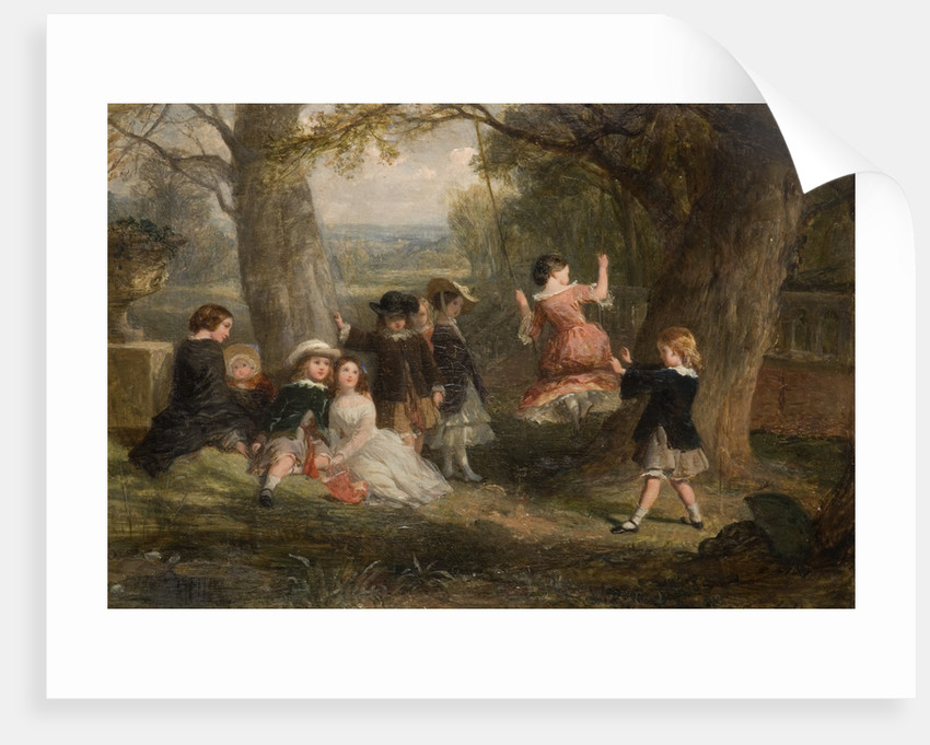 The Swing, 1853 by Frederick Goodall