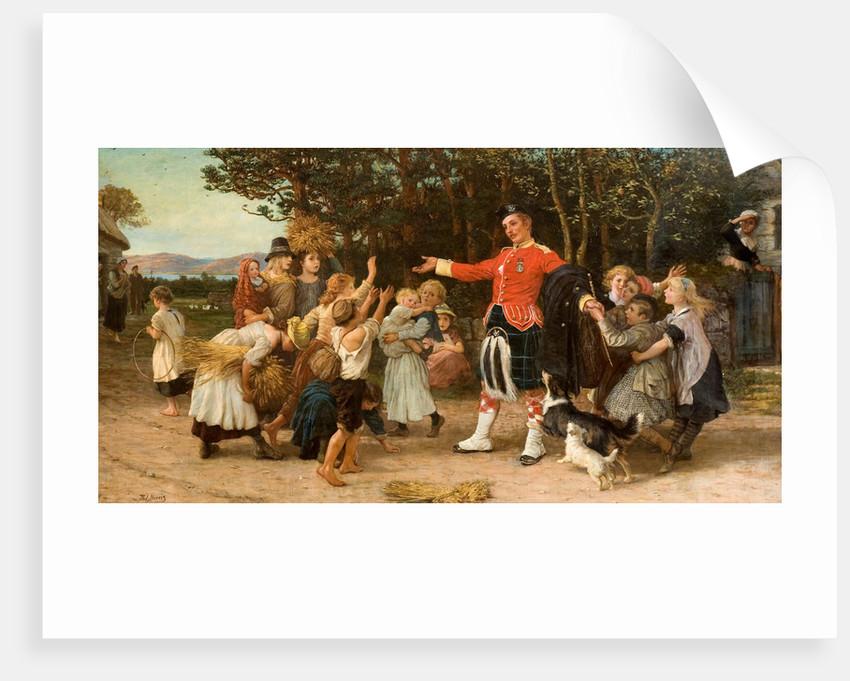 The Highland Laddie's Return, 1878 - 1886 by Phillip Richard Morris