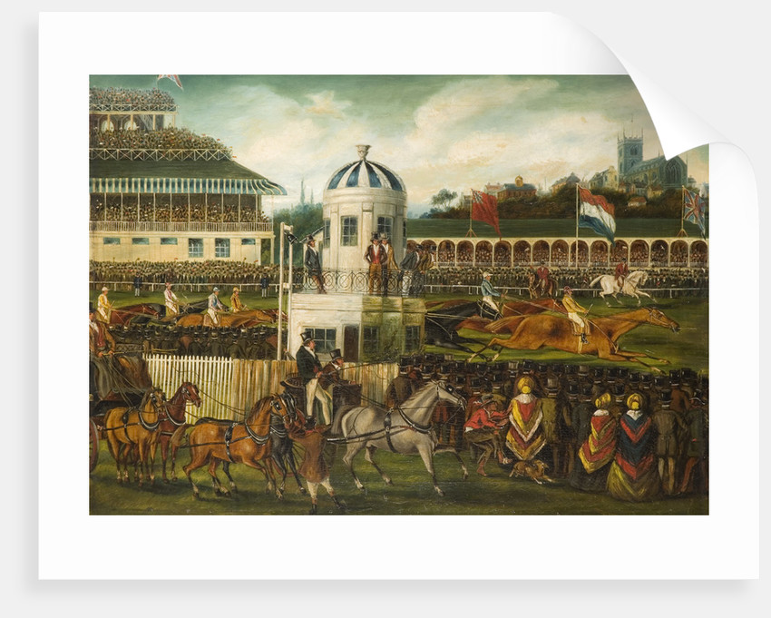 Race for Wolverhampton Stakes 1839, 1840 by unknown
