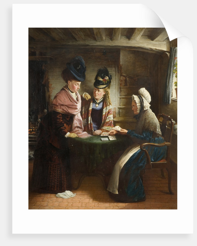Fortune Teller, 1874 by J L Lomas
