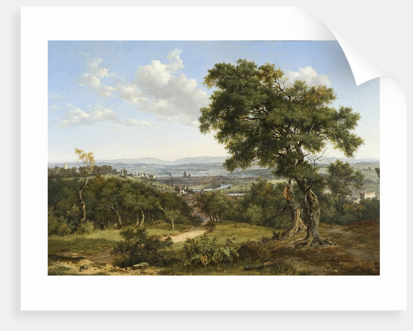 View of Bristol, 1827 by Patrick Nasmyth