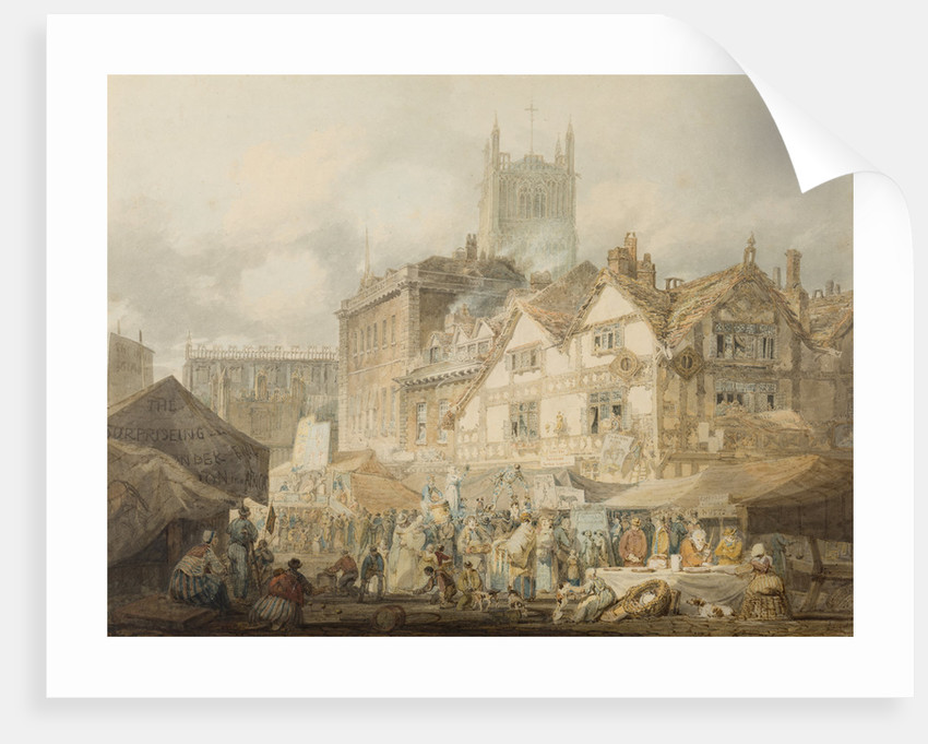 High Green, Wolverhampton, 1795 by Joseph Mallord William Turner