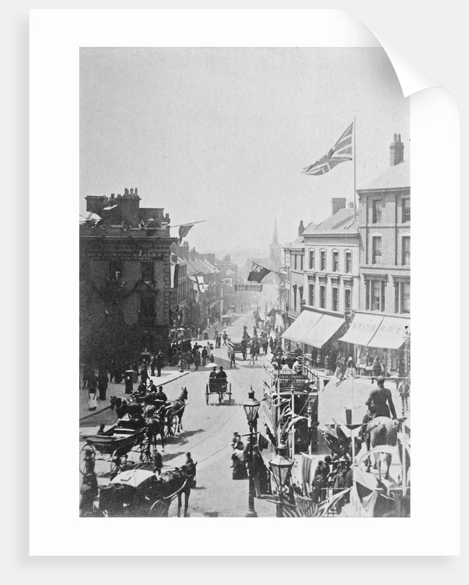 Queen Square, Wolverhampton Jubilee 1887 by unknown
