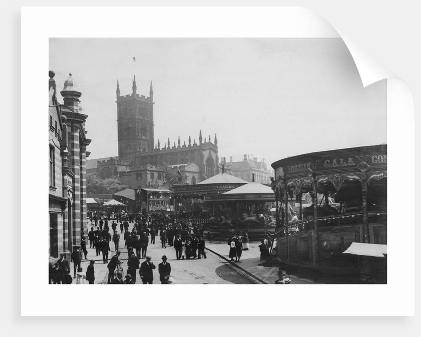 Fair and Market, Wolverhampton  c.1900 by unknown