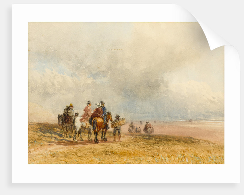 Crossing the Sands, Ulverston, 1800 - 1859 by David Cox