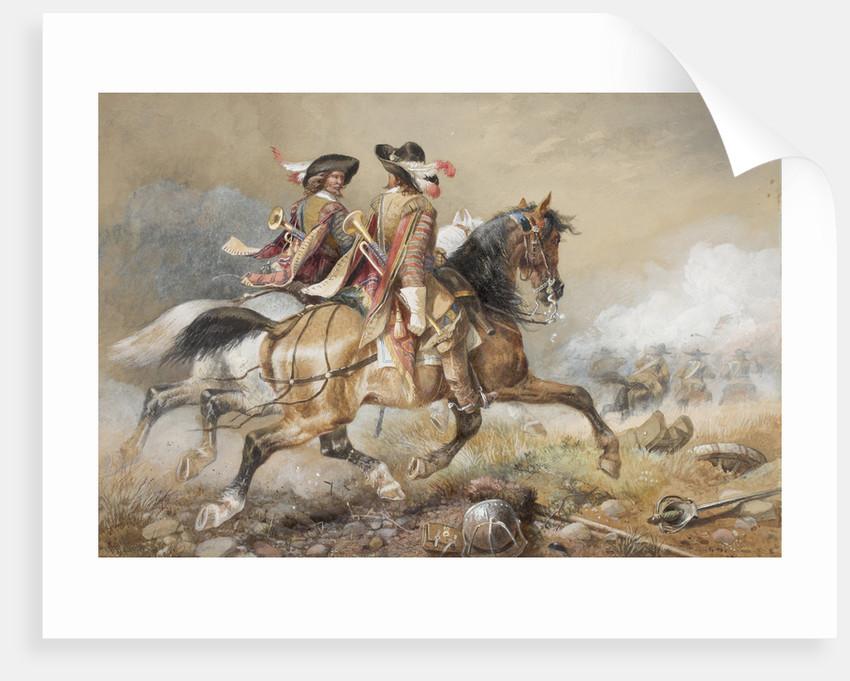 Two Cavaliers, 1846 - 1896 by Richard Beavis