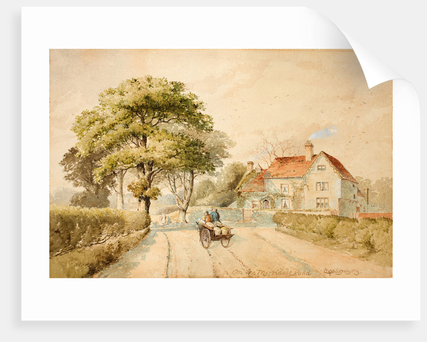 On the Merridale Road, 1830 - 1896 by Charles Gregory