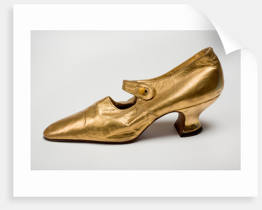 Ladies evening shoes, c.1920 by unknown