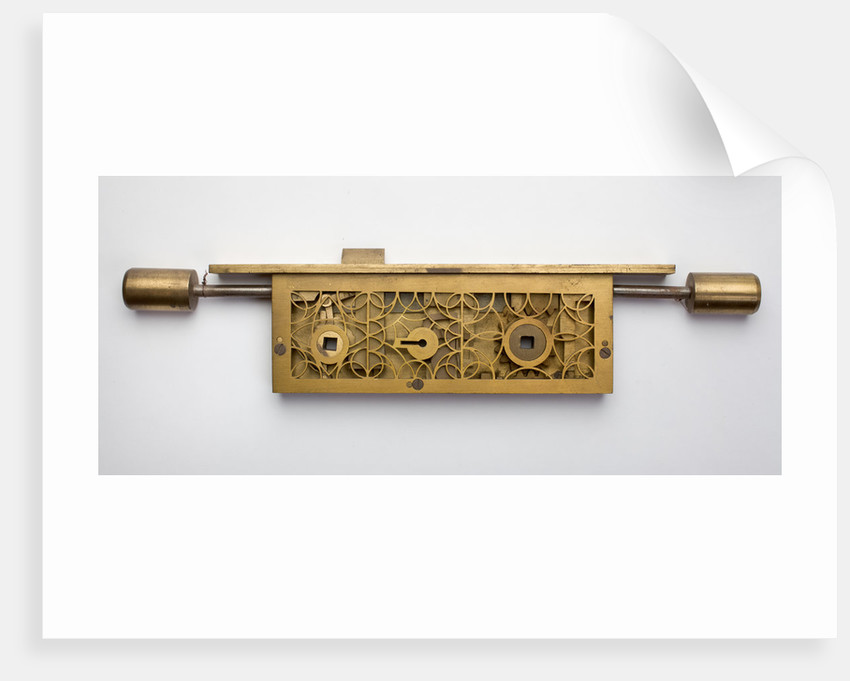 Sash lock by Erebus Ltd. of Willenhall, c.1920 by unknown