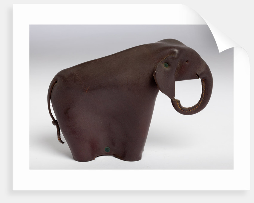 Prototype leather elephant developed for the American Republican Party, c.1955 by unknown