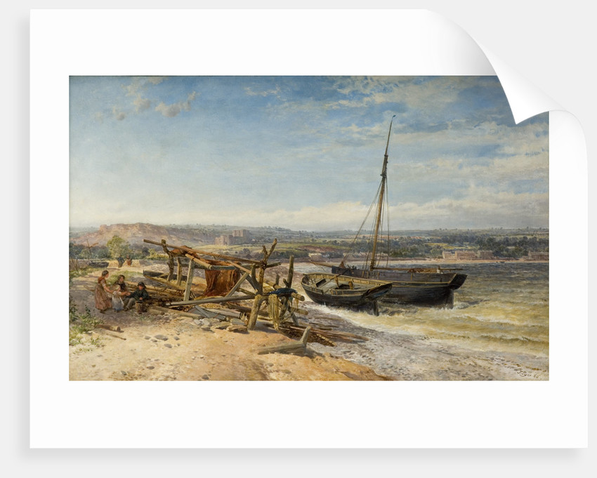 Estuary Scene, 1866 by John Syer