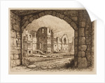 The Courtyard from the North Gate, 1864 - 1908 by Henry Pope