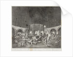 Interior of the Aston Flint Glassworks, c.1820 by unknown
