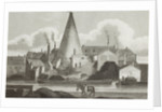 Exterior View of Aston Flint Glassworks, c.1800 by unknown