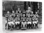 Football Team, Cottage Homes, Wednesfield, 1921 - 1922 by unknown