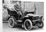 An early car used by Staffordshire County Council, 1920's by unknown