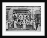 R. Gibson, Butchers Shop, Bilston, circa 1890s by unknown