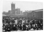Market Place, Wolverhampton, 1900 by unknown