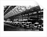 Line of Cars and Lorries, Guy Motors Ltd., Fallings Park, Wolverhampton, April 1925 by unknown